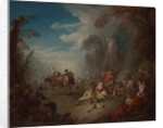 Troops at Rest, ca. 1725 by Jean-Baptiste Pater
