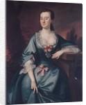 Mrs. David Chesebrough, 1754 by Joseph Blackburn