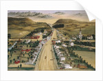 View of Poestenkill, New York, ca. 1870 by Joseph H. Hidley