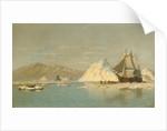 Off Greenland?Whaler Seeking Open Water by William Bradford