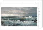 Surf on Rocks, 1890s by William Trost Richards