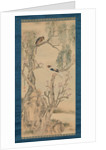 Birds in Willows and Blossoming Peach Tree by Yosa Buson