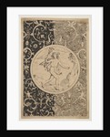 Mercury in a Decorative Frame with Grotesques, ca. 1600-1630 by Unknown