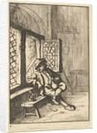 Man Sitting by a Window, 1610-85 by Unknown
