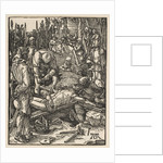Christ Nailed to the Cross, from The Small Passion, ca. 1509 by Albrecht Dürer
