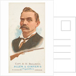 Captain Adam Henry Bogardus, Rifle Shooter, from World's Champions, Series 1 for All…, 1887 by Allen & Ginter