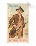 Flint-Lock Musket, from the Arms of All Nations series for Allen & Ginter Cigarettes …, 1887 by Allen & Ginter