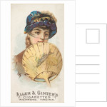 Plate 29, from the Fans of the Period series for Allen & Ginter Cigarettes Brands, 1889 by Allen & Ginter