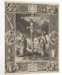 Christ on the Cross, before 1586 by Antonius Wierix