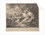 Erigone Vanquished, ca. 1745 by Claude Augustin Duflos le Jeune
