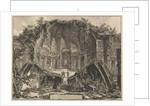 Hadrian's Villa: The Canopus, ca. 1769 by Giovanni Battista Piranesi