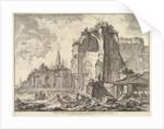 The Temple of Venus and Roma, ca. 1759 by Giovanni Battista Piranesi
