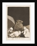 Plate 34 from 'Los Caprichos': Sleep overcomes them, 1799 by Francisco Goya