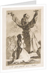 Plate 52 from 'Los Caprichos': What a tailor can do!, 1799 by Francisco Goya