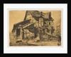 The Unsafe Tenement, 1858 by James Abbott McNeill Whistler