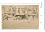The Fish Shop, Busy Chelsea, 1886-87 by James Abbott McNeill Whistler