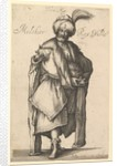Melchior, after Three Magi series by Jacques Bellange, ca. 1615 by Matthaus Merian