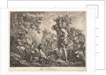 The Grape Harvest by Philippe Louis Parizeau