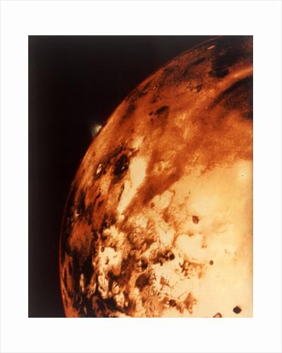 Io, Jupiter's moon, from 304,000 miles by NASA