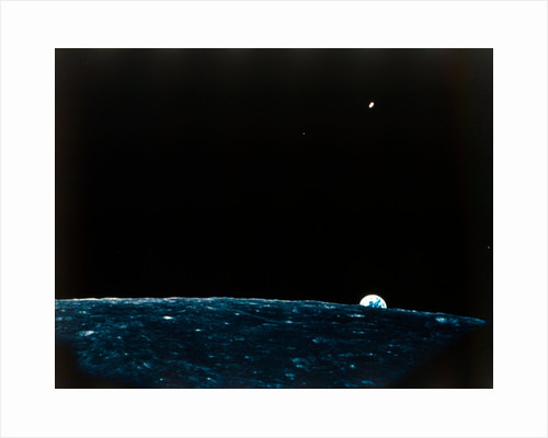 Earth from the Moon by NASA