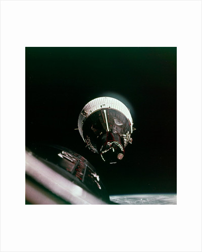 First rendezvous in space, 15 December 1965 by NASA
