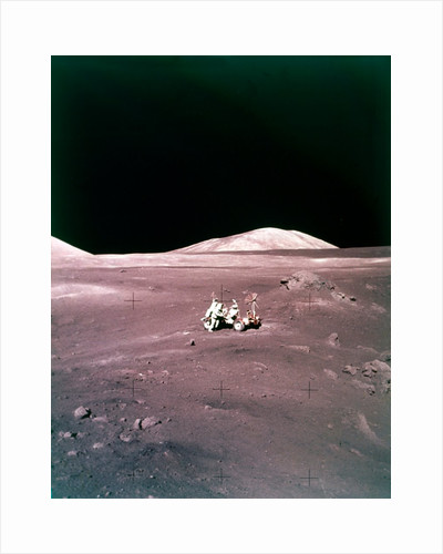 The Taurus-Littrow landing site, Apollo 17 mission, December 1972 by NASA