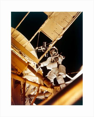 Space Shuttle - spacewalk, 1980s by NASA