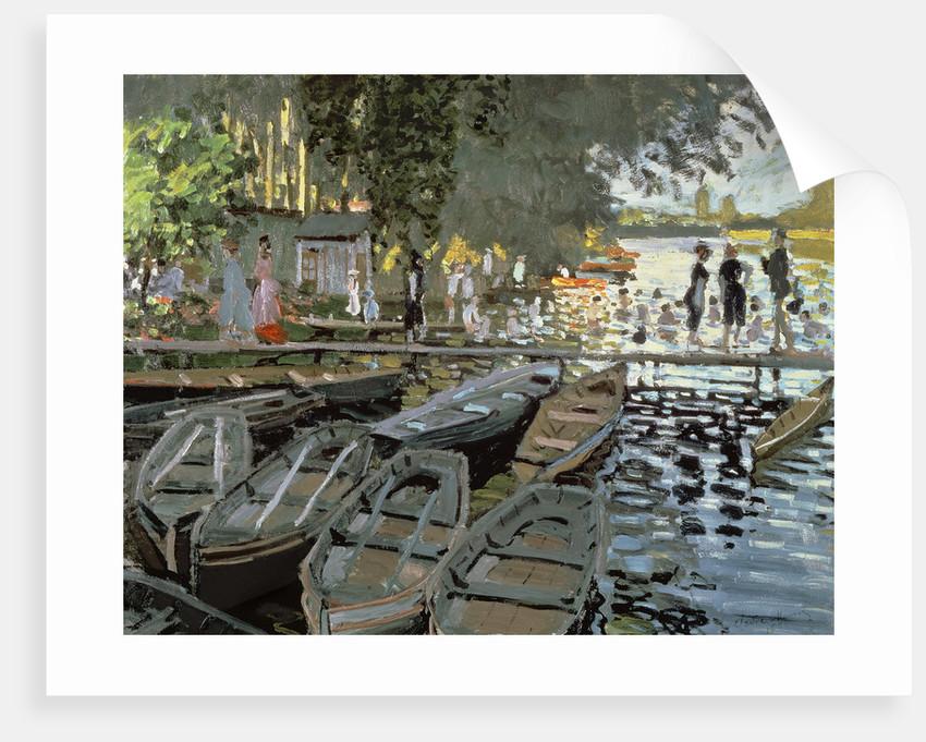 Bathers at La Grenouillere by Claude Monet