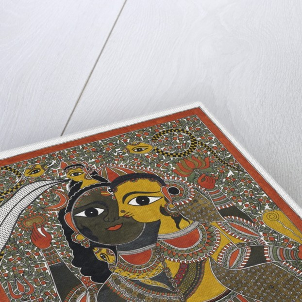 Shiva and Parvati by Anil