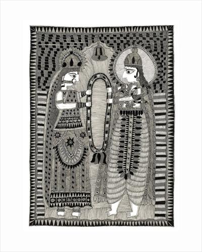 Rama and Sita by Subhash
