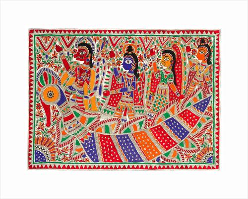 Rama , Sita & Lakshmana by Anand