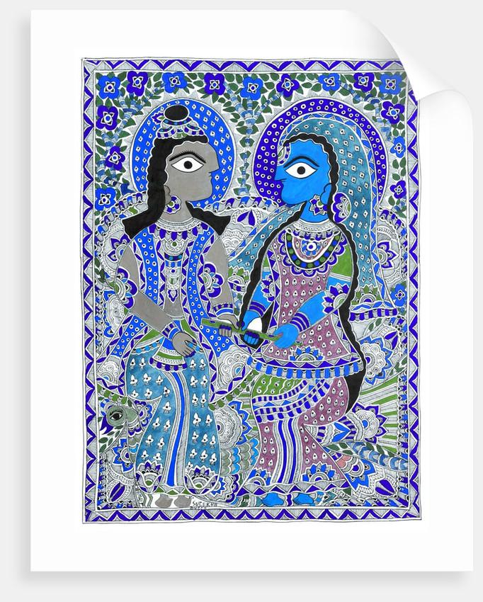 Radha Krishna by Amit