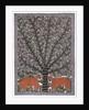 Deer under Tree by Pradeep