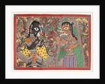 Radha and Krishna by Bebi