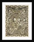 Krishna and Gopis Rasalila by Anil