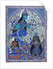 Durga fights the demon Mahishasur by Sonu