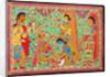 Krishna and Sudama by Basnat