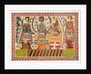 Rama , Sita & Lakshmana by Birendra