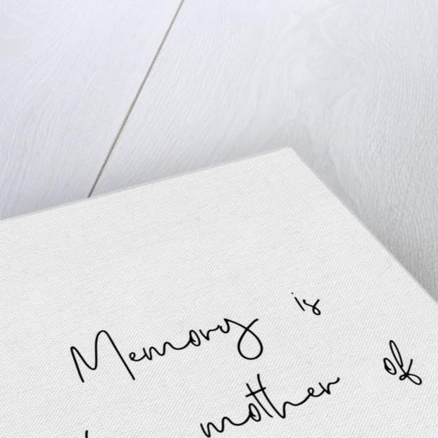 Memory and wisdom by Joumari