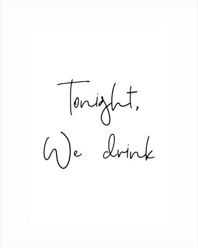 Tonight, we drink by Joumari