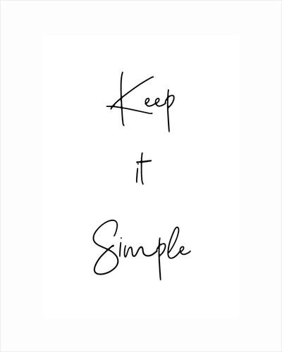 Keep it simple by Joumari
