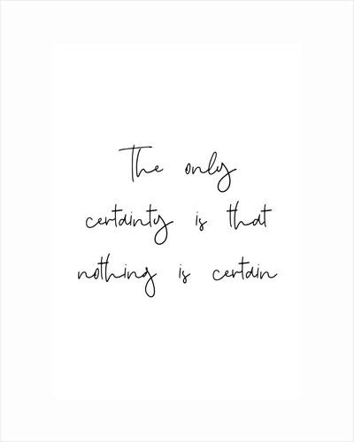 Certainty by Joumari