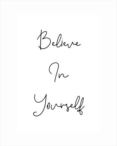 Believe in yourself by Joumari