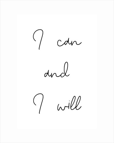 I can and I will by Joumari
