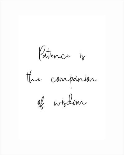 Patience and wisdom by Joumari