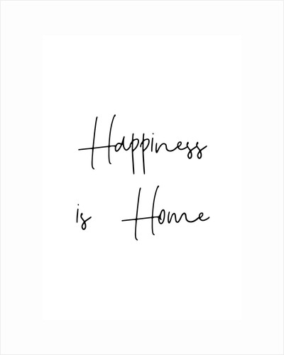 Happiness is home by Joumari
