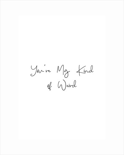 My kind of weird by Joumari