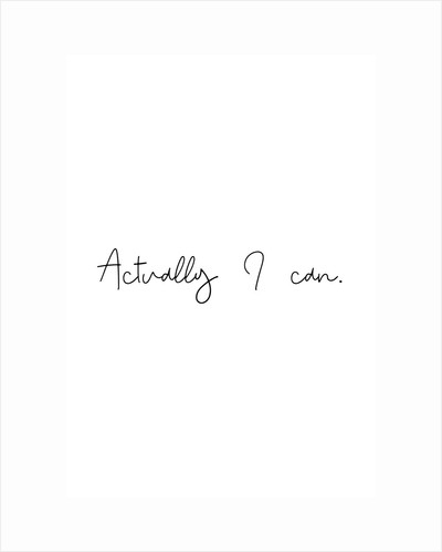 Actually I can by Joumari