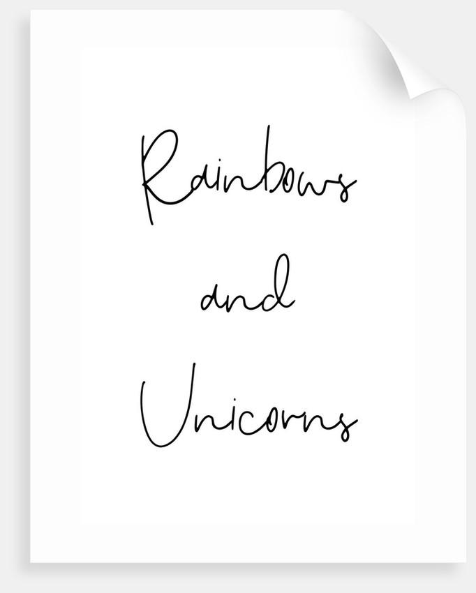Rainbows and unicorns by Joumari