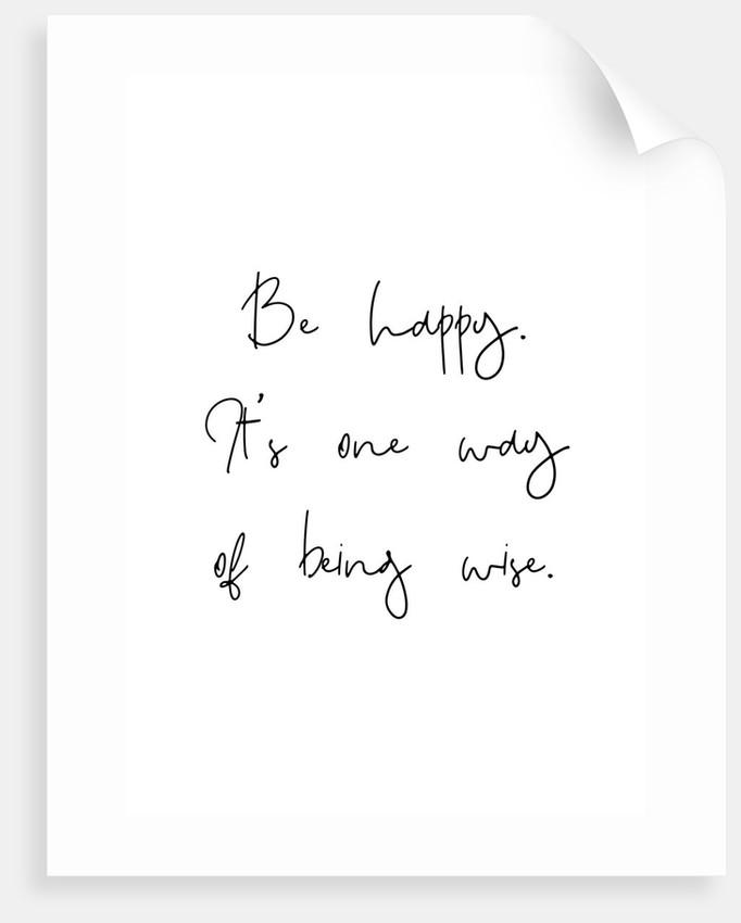 Be happy by Joumari